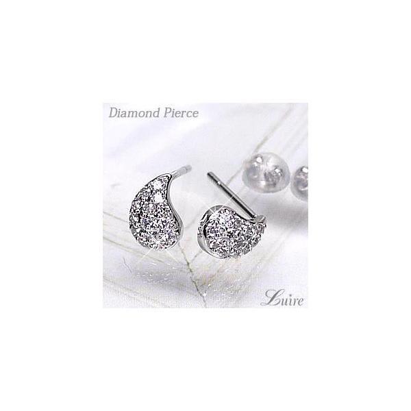 ピアス パヴェピアス ダイヤモンド プレゼント 誕生日 PT900プラチナ ドロップピアス