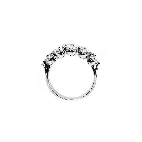 リング プラチナ900 ダイヤモンド10 ダイヤリング 2.00ct PT900プラチナ SI-クラス 天然ダイヤ ハーフエタニティ 指輪