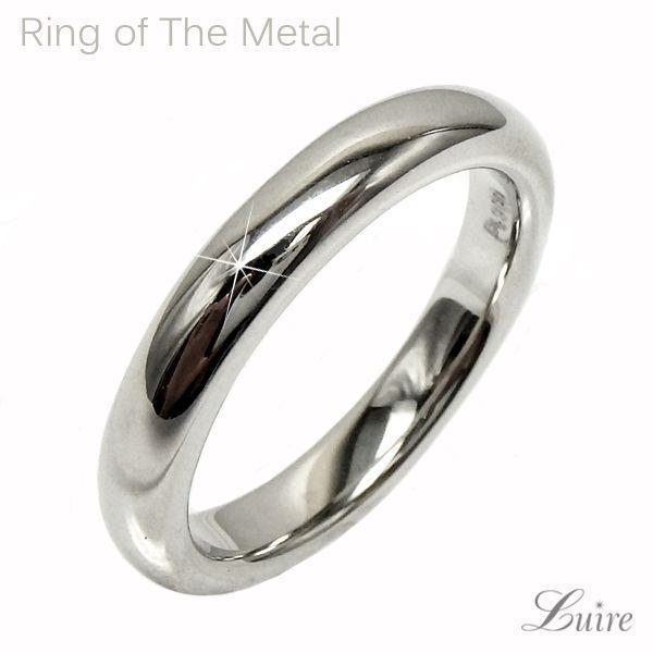 リング ペアリング 甲丸地金 結婚指輪 k18ゴールド マリッジリング k18WG/YG/PG
