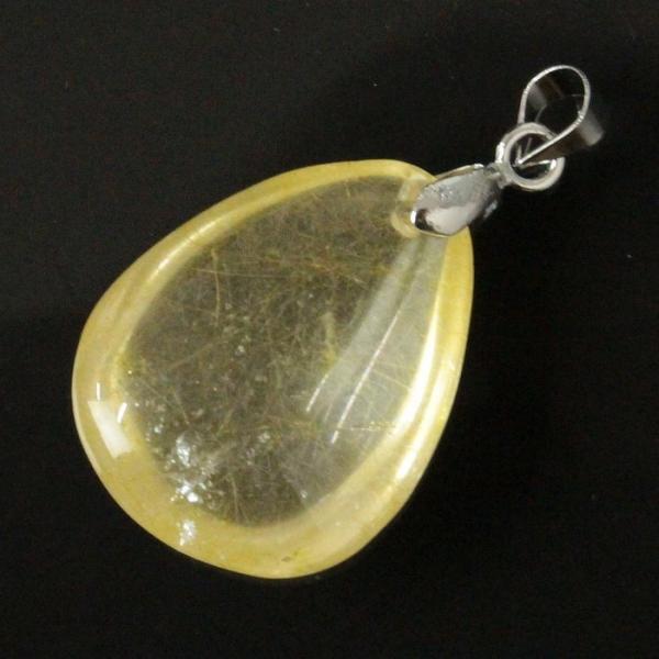 ルチルクォーツ ペンダント ネックレス quartz 金針水晶 Pendant 天然石 |メンズ レディース 海外直輸入価格で販売|
