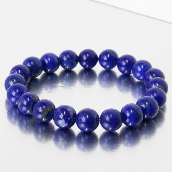 ラピスラズリ ブレスレット 一点物 瑠璃 Bracelet 腕輪 天然石 |メンズ レディース 海外直輸入価格で販売|