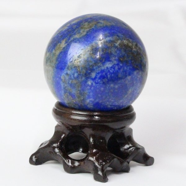 ラピスラズリ 丸玉 原石 一点物 瑠璃 水晶玉 パワーストーン【40mm玉】