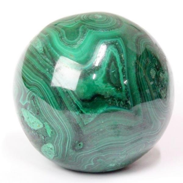 マラカイト 丸玉 原石 一点物 おすすめ 水晶玉 天然石【35mm玉】
