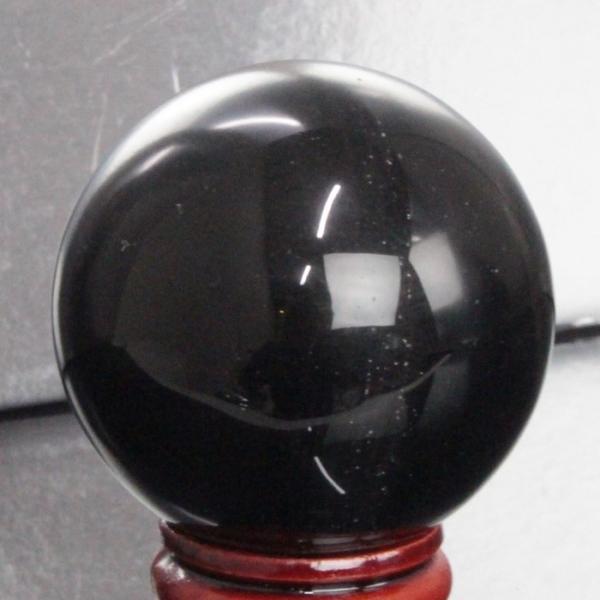 オニキス 丸玉 水晶玉 Onix 黒瑪瑙 原石 天然石【47mm玉】