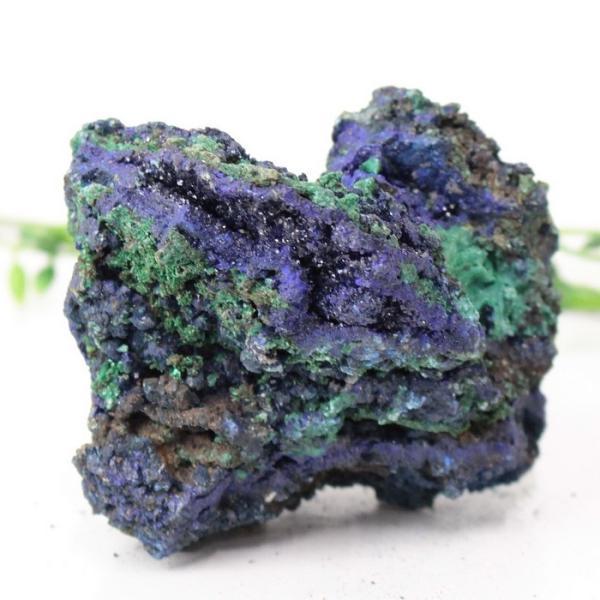 アズロマラカイト 原石 クラスター 原石 ラフ 鉱物 石 azurite malachite  アズライトマラカイト 置物 インテリア 一点物