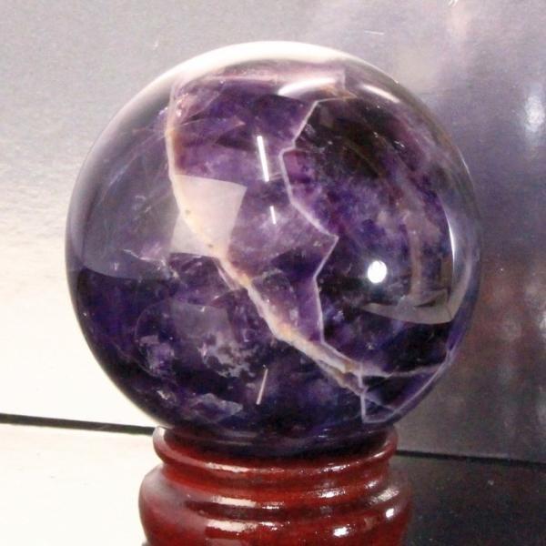 【67mm玉】アメジスト 丸玉 水晶球 置物 水晶玉 原石 球体 Amethyst 紫水晶 人気 おすすめ パワーストーン