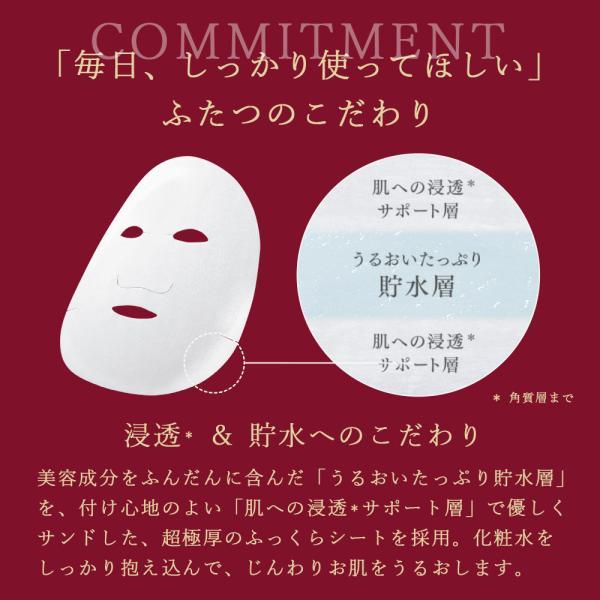 NEW 化粧水 パック シートマスク ルルルン公式 ルルルンプレシャス レッド 32枚入|フェイスマスク マスク シート マスクパック マスクシート フェイスパック|lululun|09