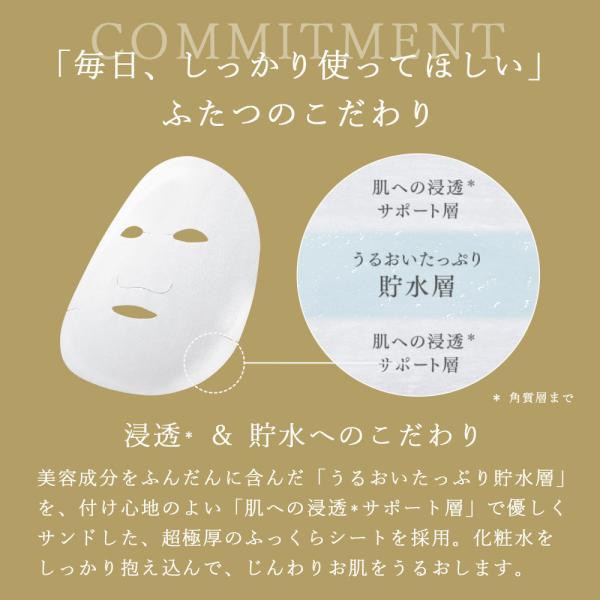 NEW 化粧水 パック シートマスク ルルルン公式 送料無料 ルルルンプレシャス ホワイト 96枚セット(32枚入x3個)フェイスマスク マスクパック マスクシート|lululun|09