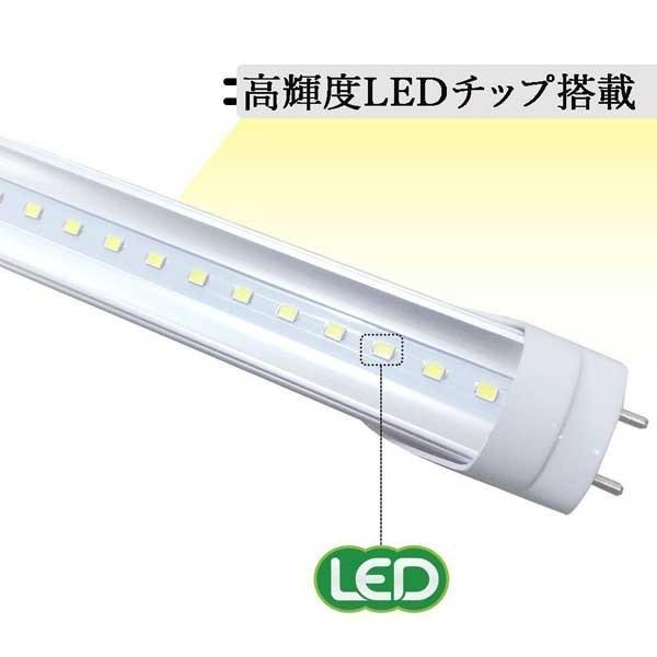 LED蛍光灯 40w形 120cm 高輝度 昼光色 直管LED照明ライト グロー式工事不要G13 t8 40W型|lumi-tech|04