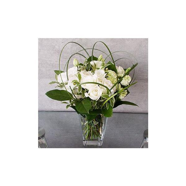 ジェシカ(ホワイト系バラの花束)|lumiere|02