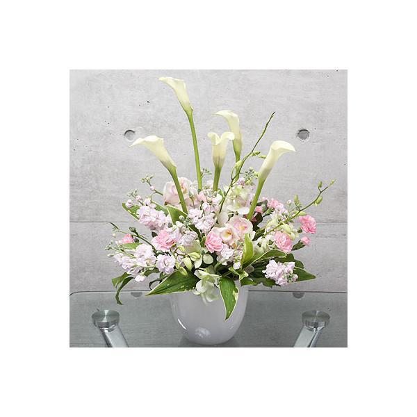 開院祝い ピンク系おまかせアレンジメント(カラー)|lumiere