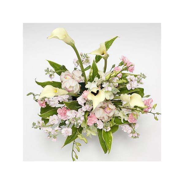 開院祝い ピンク系おまかせアレンジメント(カラー)|lumiere|02