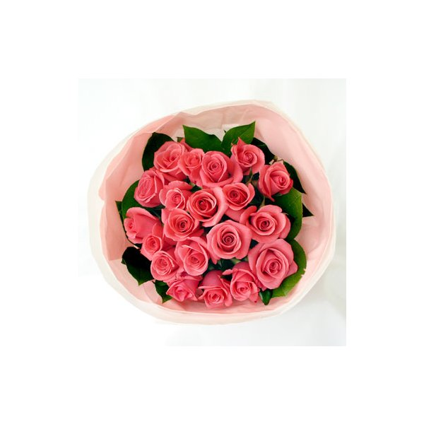 濃ピンク花束B(バラ)20本 lumiere