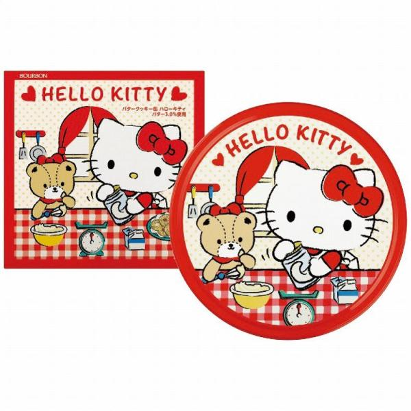ブルボン ブルボンバタークッキー缶(ハローキティ) プチギフト お菓子 焼き菓子 ギフト 詰め合わせ 個包装 apide4031-092