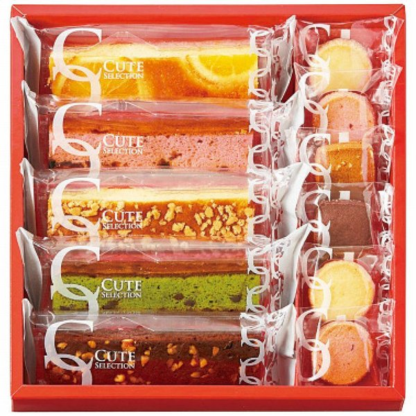 ひととえ キュートセレクション 焼菓子詰合せ 内祝 プチギフト お菓子 洋菓子 クッキー 焼き菓子 ギフト 詰め合わせ 個包装 ギフトセット CSA-10 apide4217-069
