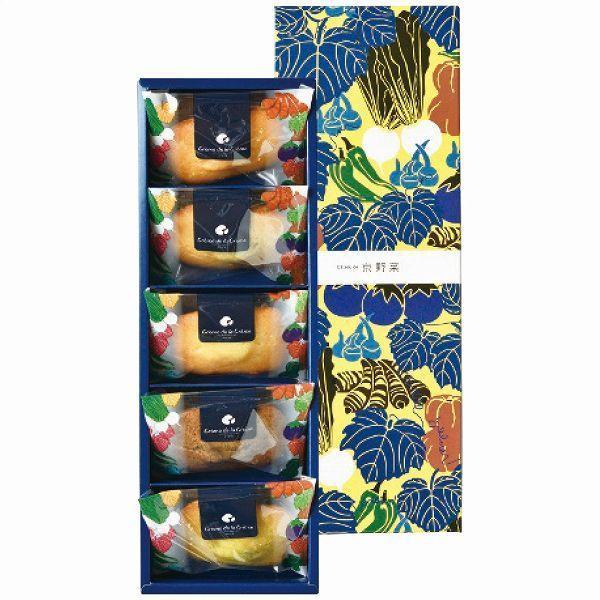ガトードゥ京野菜フィナンシェ5個 クレーム デ ラ クレーム apide7417-028 お中元 御中元 夏ギフト 贈り物