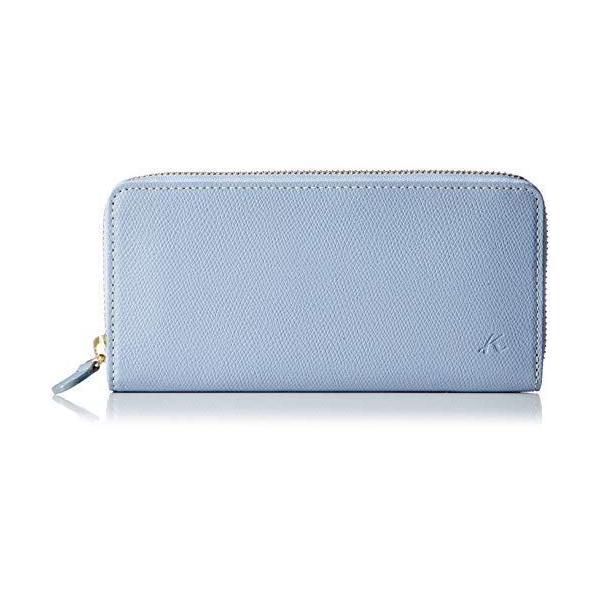 キタムラ 長財布キズが目立ちにくい素材PH0570マスタード/アイボリーステッチ 黄色 43911