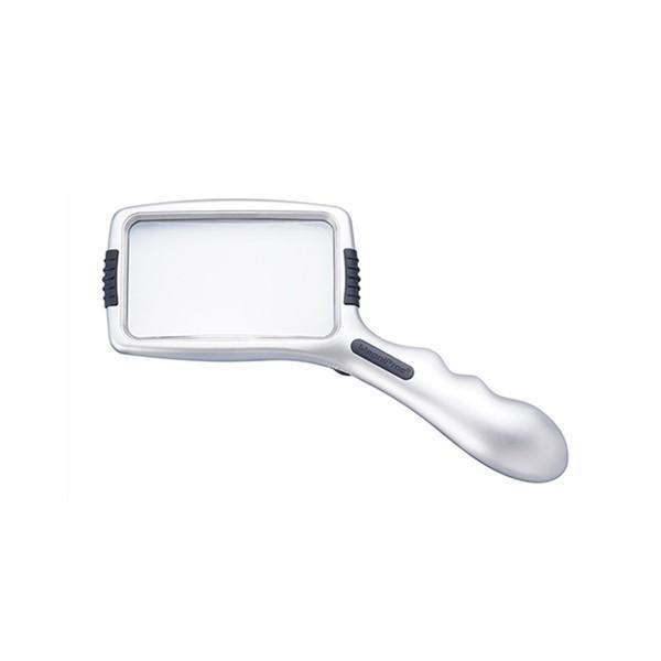 LEDライト付きハンドルーペ MZED15 071136 拡大鏡