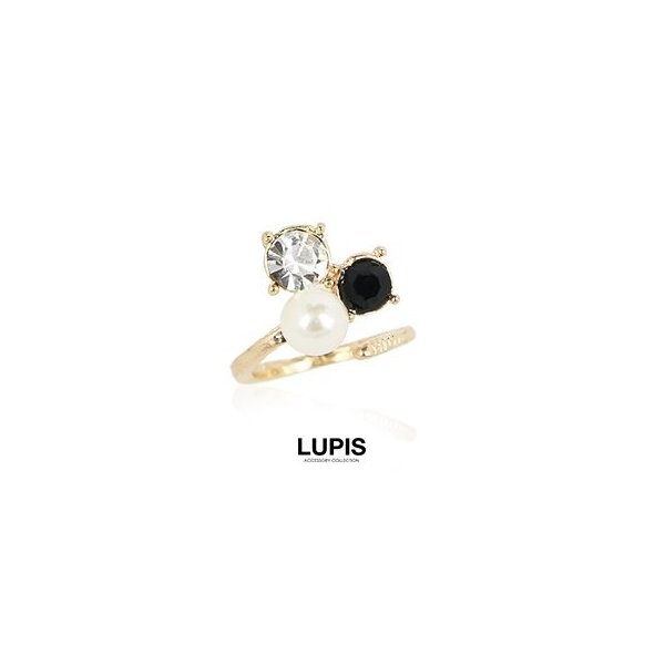 ネイルチップリング レディース 指輪 パールジュエル 激安 lupis ルピス|lupis|02