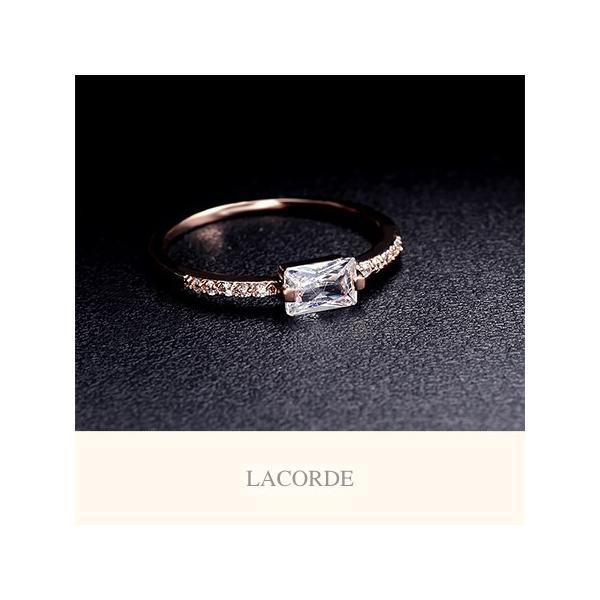 クラシカルスクエアリング【LACORDE】 LUPIS ルピス