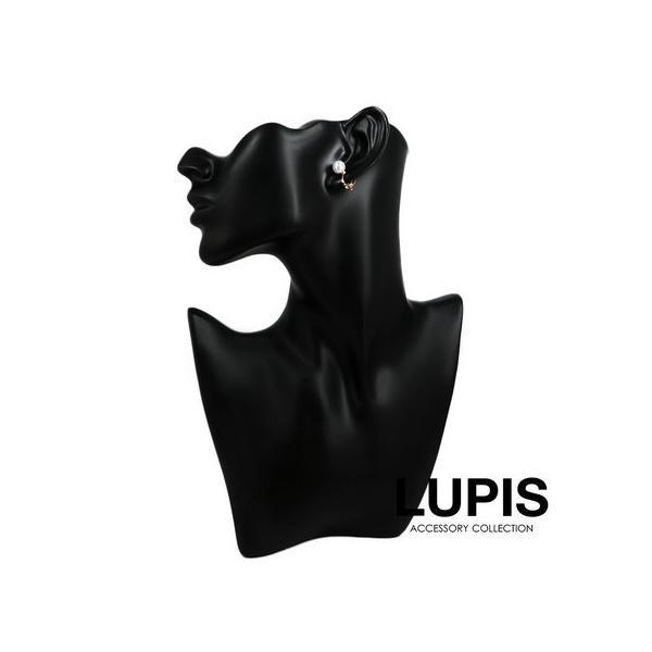 イヤリング レディース ストーン プチ パール ホワイト LUPIS ルピス