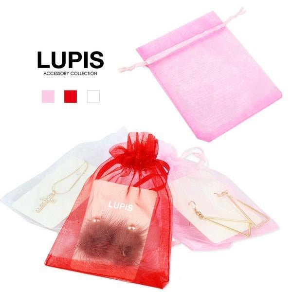 ファッション 小物 ケース オーガンジー 巾着袋 ラッピング|lupis