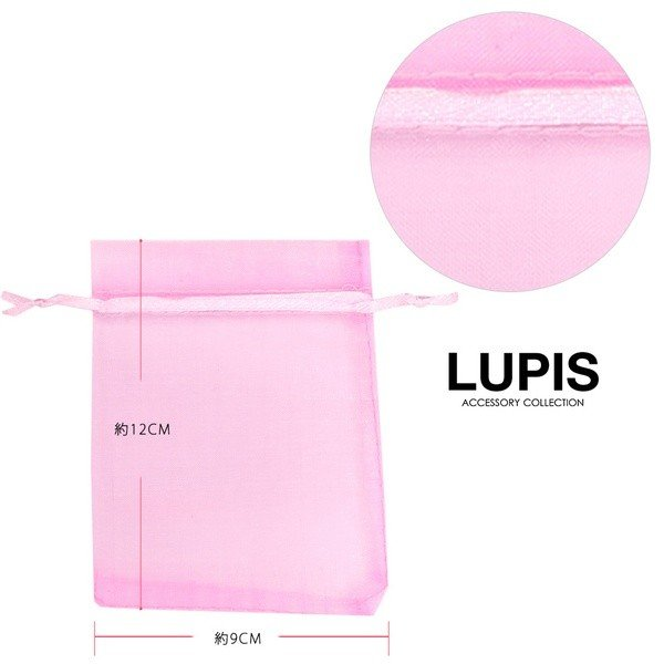 ファッション 小物 ケース オーガンジー 巾着袋 ラッピング|lupis|06