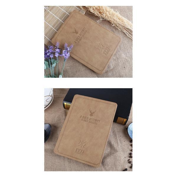Deer iPad mini 4  7.9インチ A1538 A1550 対応 しか 鹿 手帳型  アイパッド ミニ ケース カバー 鹿の子風 フェイクレザー lupo 03
