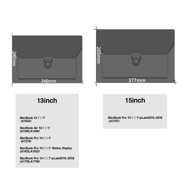 MacBook フェルト ケース Macbook12 Macbook Air 13 Macbook Pro 13 15  Retina & Touch Bar 最新モデル対応 バッグ マックブック ノートパソコン|lupo|02