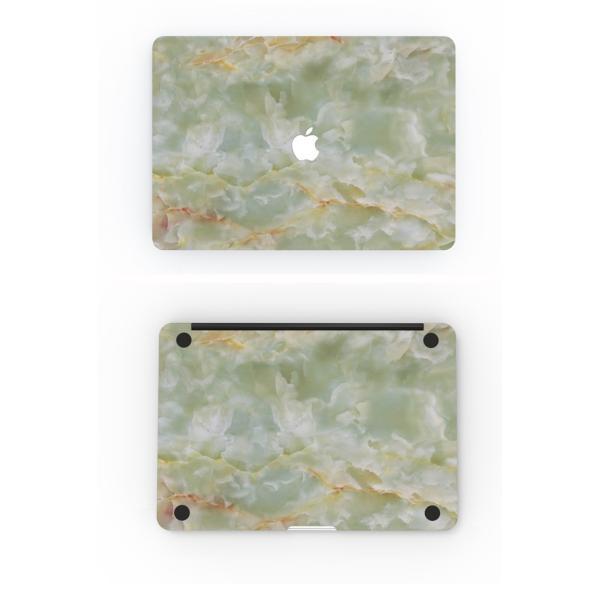 メール便 送料無料 MacBook スキンシール 翡翠柄 最新モデル対応 / Macbook12