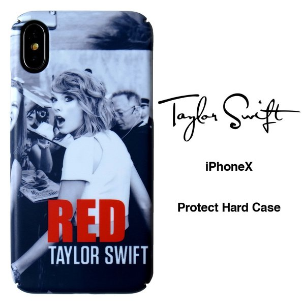 SALE テイラー スウィフト iPhoneX iPhoneXs ハードケース 液晶フィルム付き Taylor Swift