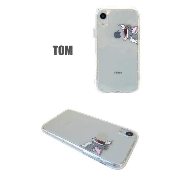トムとジェリー iPhoneXR クリアケース アイフォンケース lupo 02