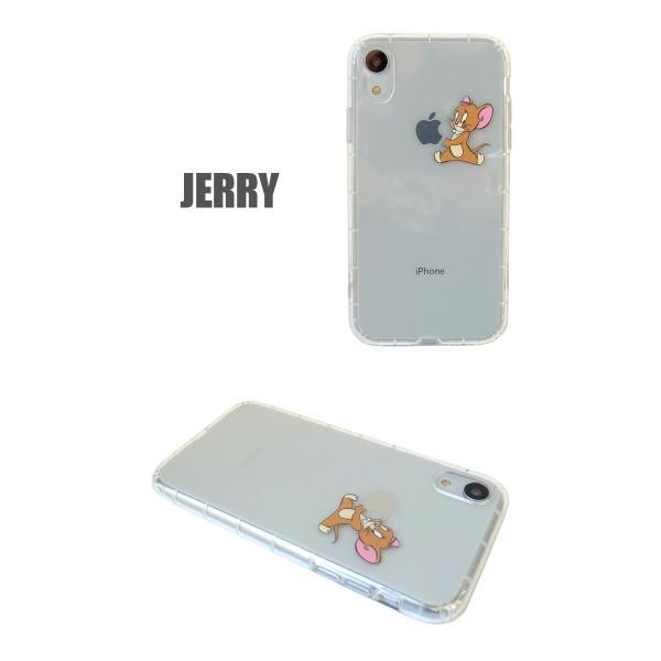 トムとジェリー iPhoneXR クリアケース アイフォンケース lupo 03