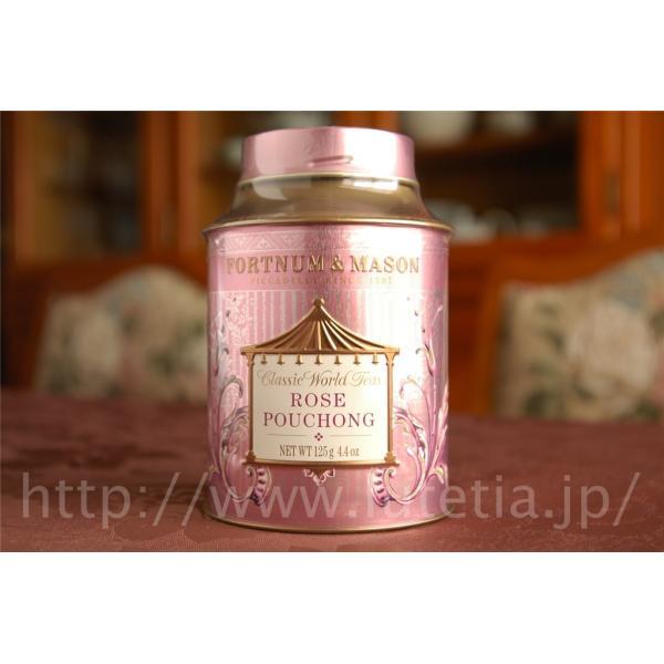 RoomClip商品情報 - ローズポーション(プーション・包種茶) 125g缶入り(フォートナム・アンド・メイソン)