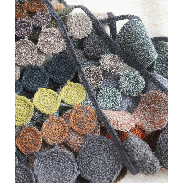 sophie digard ソフィーディガール INFINITY AND BEYOND  WOOL SCARF SMALL luvri 02