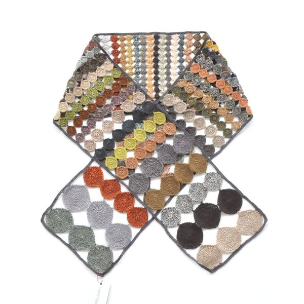 sophie digard ソフィーディガール INFINITY AND BEYOND  WOOL SCARF SMALL luvri 04