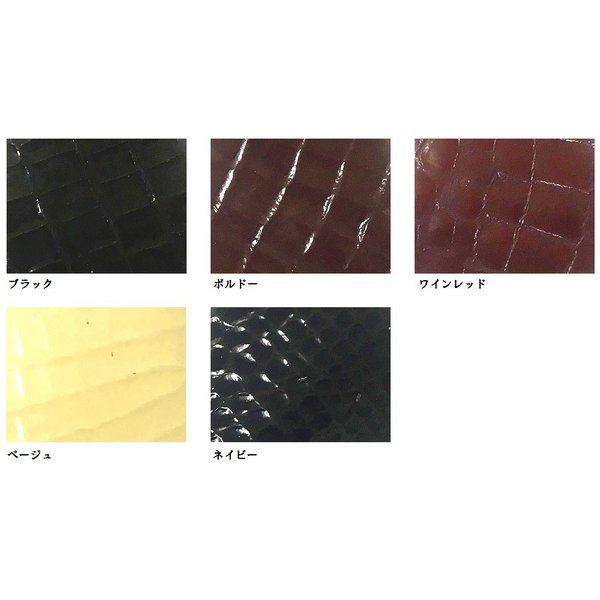 クロコKエナメル オープントゥパンプス LC3014 ワイズも選べる受注生産 日本製・自社内製造|luxcel-shop|05