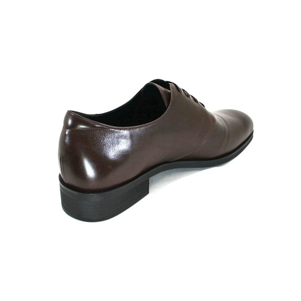 カーフ ロングノーズ プレーントゥ 紳士靴 LC8001 ワイズも選べる受注生産 日本製・自社内製造|luxcel-shop|03
