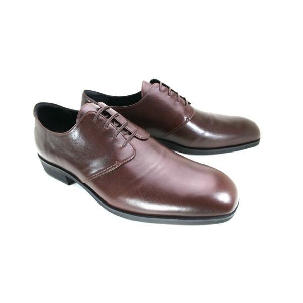 カーフ ロングノーズ プレーントゥ 紳士靴 LC8001 ワイズも選べる受注生産 日本製・自社内製造|luxcel-shop|04