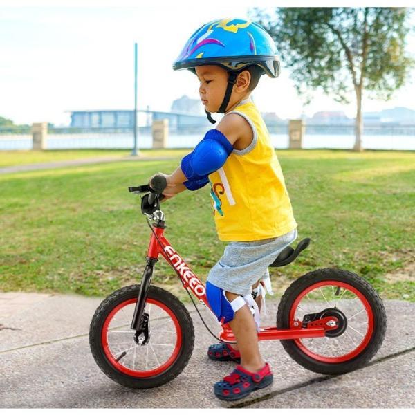 【限定特価】enkeeo ペダルなし自転車 子供用自転車 バランスバイク 子供 ランニングバイクブレーキ付き 軽量 プレゼント|luxwell|05