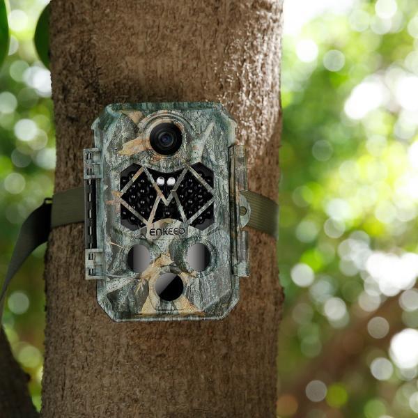 防犯カメラ トレイルカメラ 45赤外線LED 2000万画素 32GBSDカード付き 1080P IP66防水 自動録画 動体検知 暗視 鳥獣害対策 enkeeo 限定特価|luxwell|10