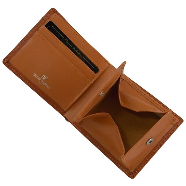 0e0fb0fb1531 ... 箱無し】 メンズ 定番 本革 牛革 二つ折財布 カードスライダー付LUCIANO ...