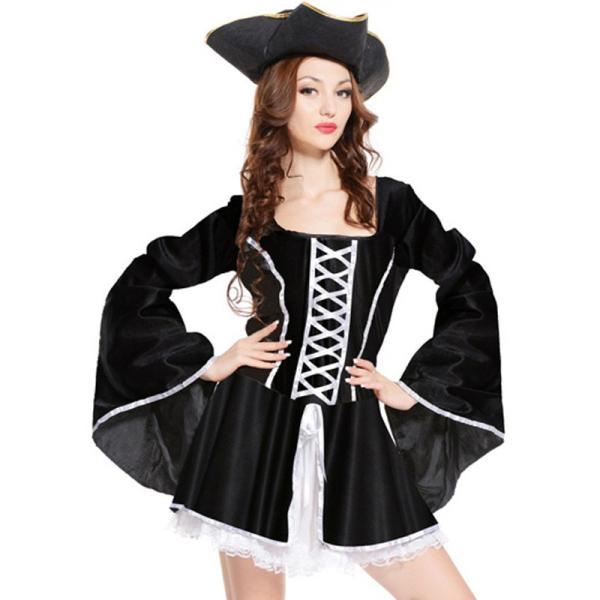 a8c8ec0adfb4ff ... ハロウィン衣装 女海賊 コスチューム ワンピース キャラクター Halloween女性 大人用/レディース 衣装変装cosplay ...