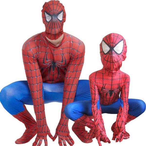 スパイダーマンロンパースコスプレ衣装ハロウィン仮装子供用ハロウィンコスチュームパーティー仮装演出道具Halloween特集|lwf