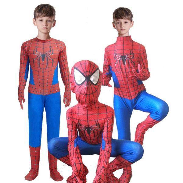 スパイダーマンロンパースコスプレ衣装ハロウィン仮装子供用ハロウィンコスチュームパーティー仮装演出道具Halloween特集|lwf|05