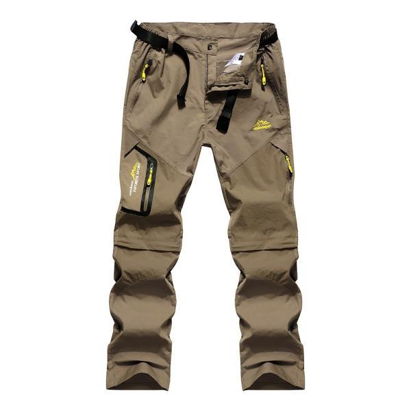 メンズ アウトドアパンツ ロングパンツ ショートパンツ 2way 登山用パンツ トレッキングパンツ 自転車パンツ スポーツウェア サイクリングパンツ|lwf