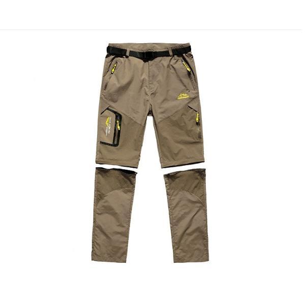 メンズ アウトドアパンツ ロングパンツ ショートパンツ 2way 登山用パンツ トレッキングパンツ 自転車パンツ スポーツウェア サイクリングパンツ|lwf|02