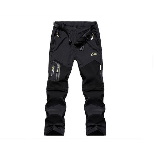メンズ アウトドアパンツ ロングパンツ ショートパンツ 2way 登山用パンツ トレッキングパンツ 自転車パンツ スポーツウェア サイクリングパンツ|lwf|09