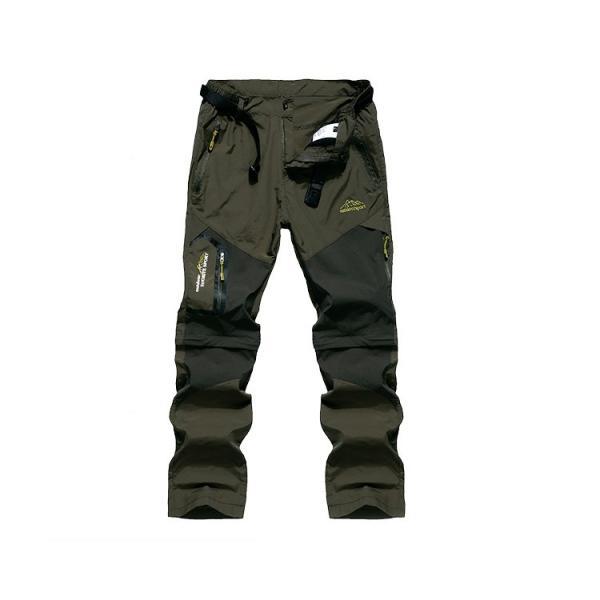 メンズ アウトドアパンツ ロングパンツ ショートパンツ 2way 登山用パンツ トレッキングパンツ 自転車パンツ スポーツウェア サイクリングパンツ|lwf|10