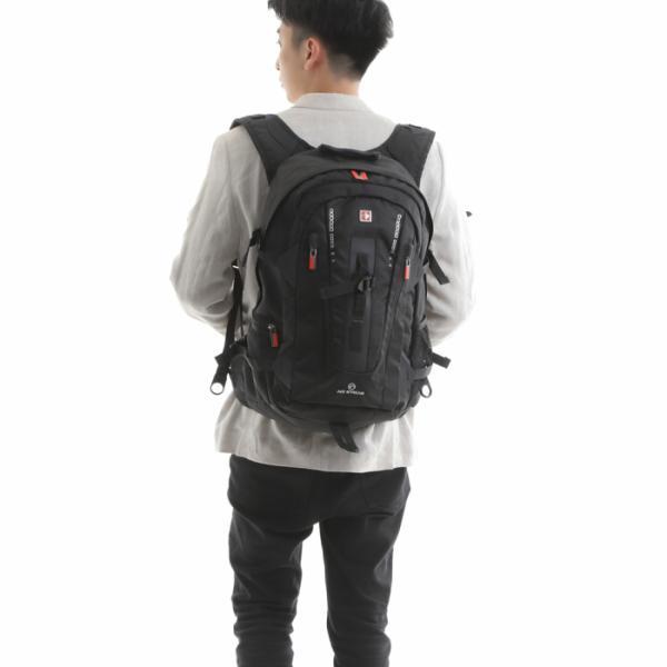 リュック大容量 リュック メンズ  リュックサック レディース 高校生 通学 通勤 旅行 登山 リュック swisswin SW9972【今だけレインカバー付き】|lwinbag|02